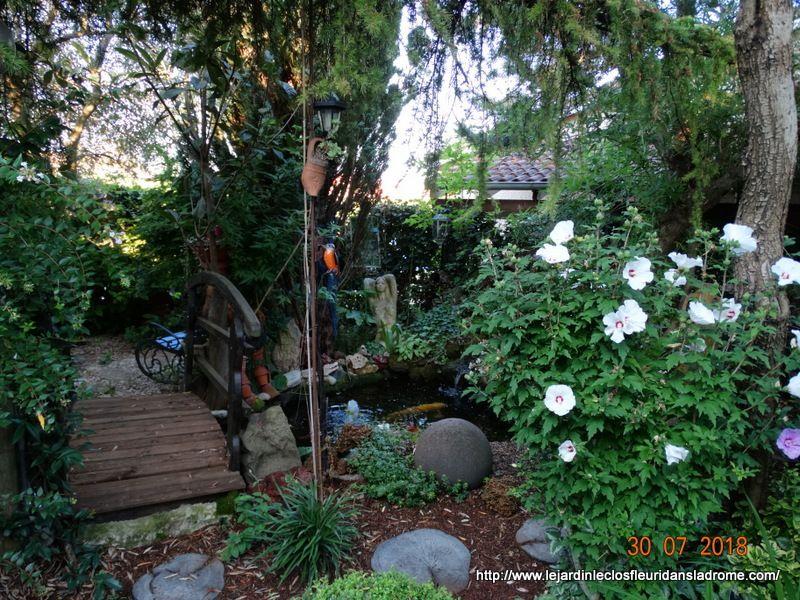 Mon jardin Le Clos fleuri en août ...