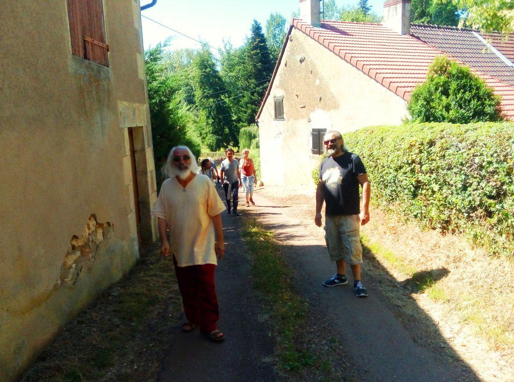 Photos du séminaire d'été 2020 à Beaumont-La-Ferrière