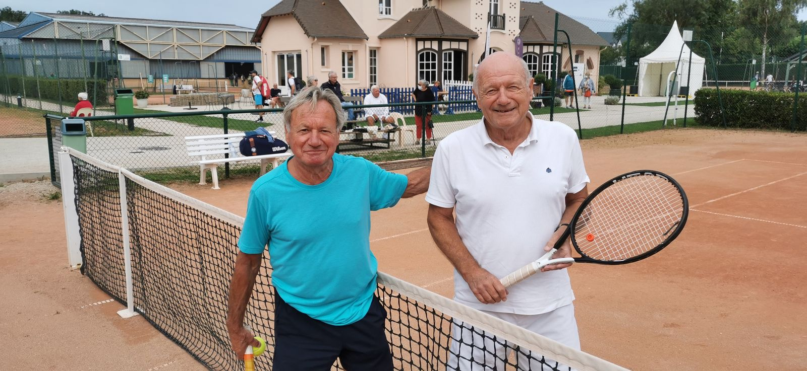 Christian Sicre 30 Vernon perd contre Michel Didierjean 30 Garden Tennis de Cabourg