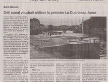 Défi Canal, assemblée générale ordinaire du 28 février 2015 : rapport moral du Président...