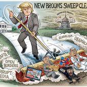 USA : Trump saisit les biens des Traîtres à la Nation !
