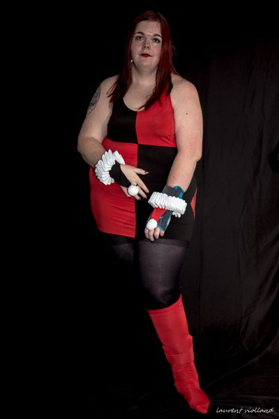 SHOOTING PHOTO THEME HARLEY QUINN