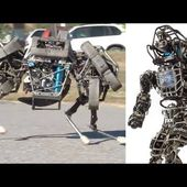 DARPA : Real life terminators Military Robots - Development of new technologies for use by the military - OOKAWA Corp.