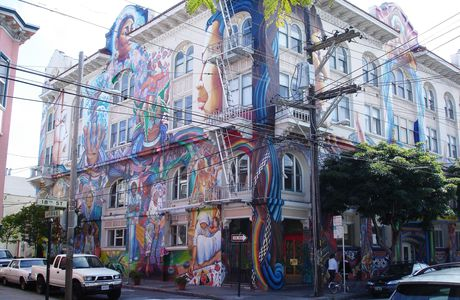 San Francisco ; street art, Women's building