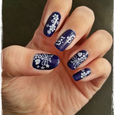 Stamping plaque T03 - Review Stamping Nail France