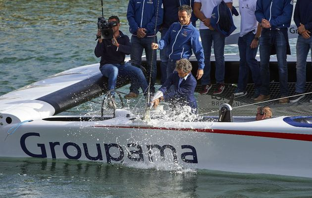Groupama Team France dévoile son Class AC de test