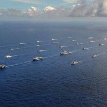 Les États-Unis, et leurs alliés, dont la France, préparent la confrontation navale avec le Chine et la Russie