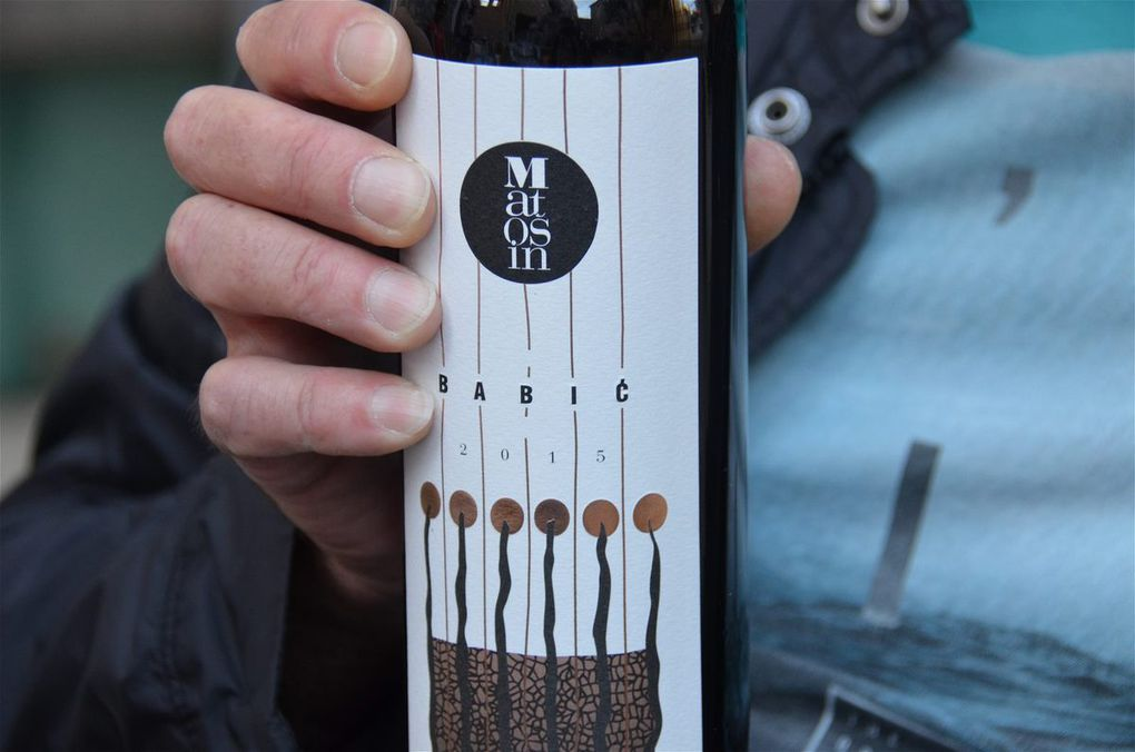 Croatie : Dégustation Babić / Vina Sladić / BIBICh Wine