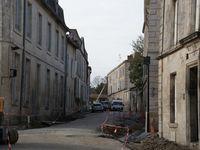 Rue Rabelais ► les travaux avancent, la rue prend son nouveau visage