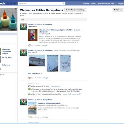 Welina sur FB