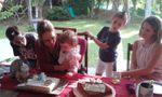 Le goûter d'anniversaire des 1 ans de Madonie