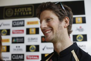 Romain Grosjean continue avec Lotus