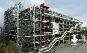 """5ème """"Le Centre Pompidou a envahi ma feuille!"""""""