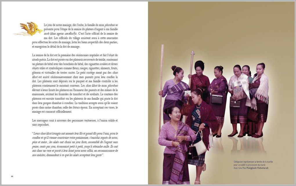 Ebook: A Lao Wedding - Un Mariage Lao