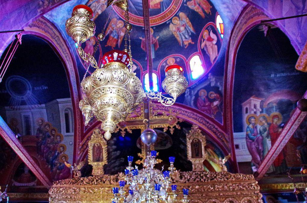Monastère Panachrantou sur les hauteurs de Chora