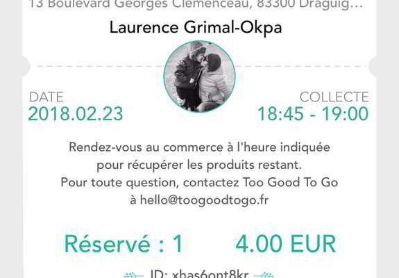 Too Good To Go pour lutter contre le gaspillage alimentaire #appli