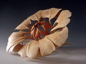 De subtiles sculptures de bois (Alain Mailland)