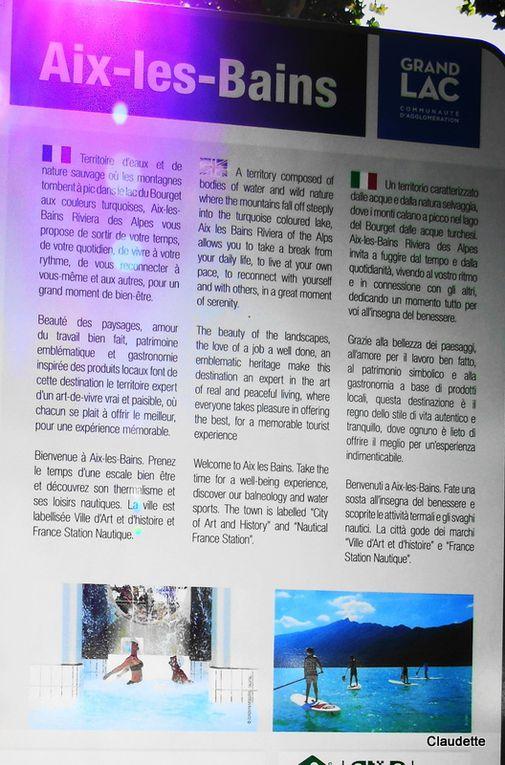 Août 2018 - Balade au Lac du Bourget