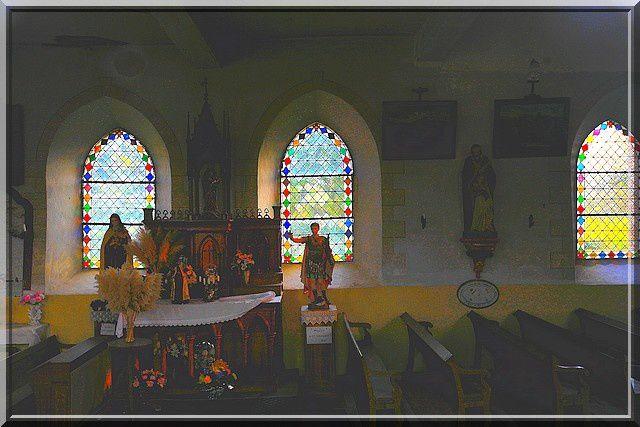 Diaporama église fortifiée de Rogny