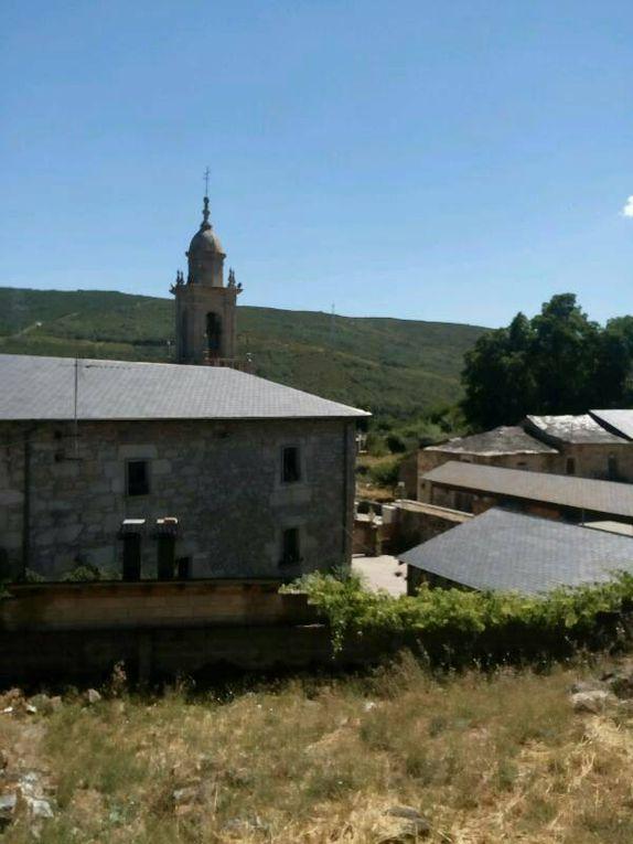 Lubian, un joli village de montagne.