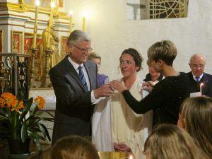 BAPTÊME de MAY à AHETZE, Pâques 2017
