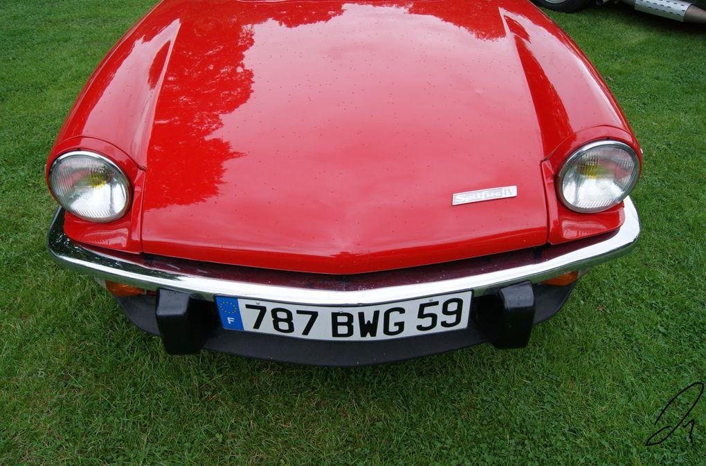 weekend d'élégance automobile au château de Nieppe le 17-18 septembre 2011