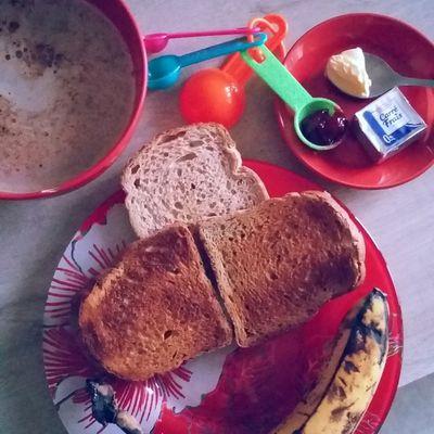 Petit déjeuner version pain de seigle