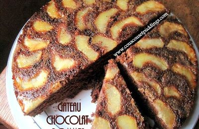 Gâteau au chocolat aux pommes