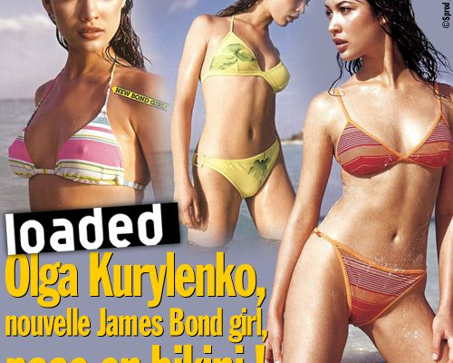Loaded : Olga Kurylenko, nouvelle James Bond girl, pose en bikini !