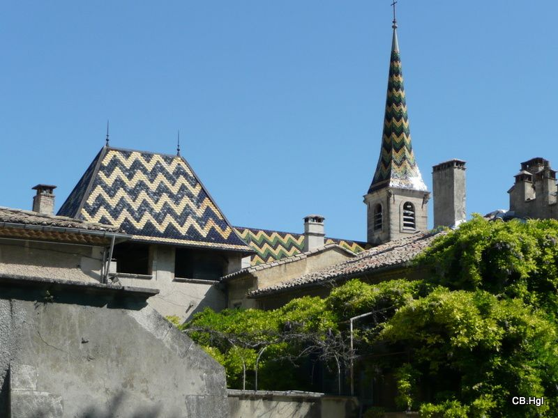 Notre chemin de Glun (07) jusqu'en Arles (13)