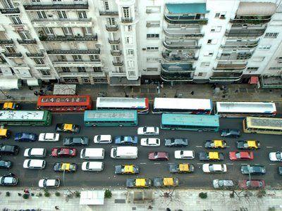 Embouteillage à Buenos Aires et solutions