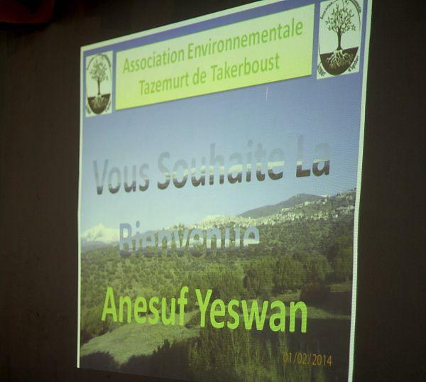 Cet évènement s'est déroulé le 28 février 2014 dans le village de TaTakerboust (Bouira)