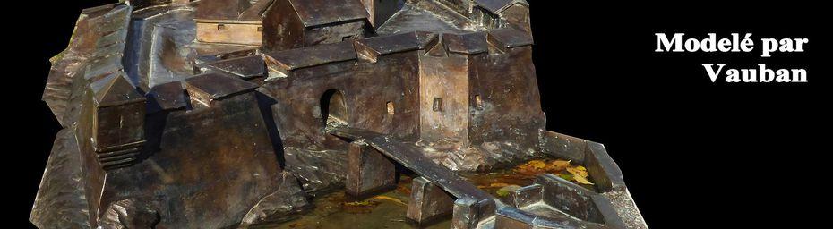 SAINT VINCENT les FORTS - Forteresse modelée par VAUBAN dominant le LAC de SERRE PONCON