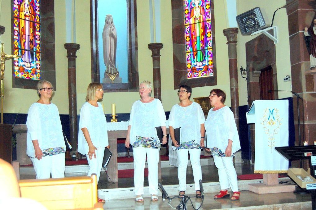 Les Happy Sisters en concert à ND de la confiance