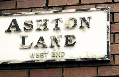 Road Trip en Ecosse... Ashton Lane sur Glasgow
