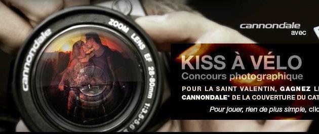 Concours KISS A VELO, 2 vélos Cannondale à gagner.
