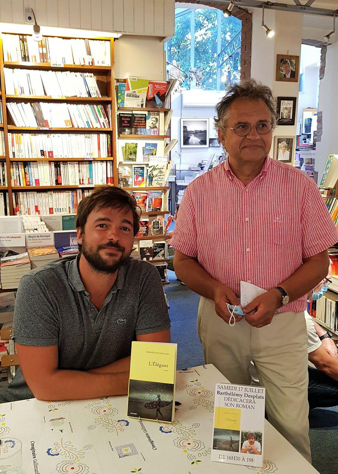 Samedi 17 Juillet - Librairie Les nouvelles Impressions avec Thierry de la Fournière
