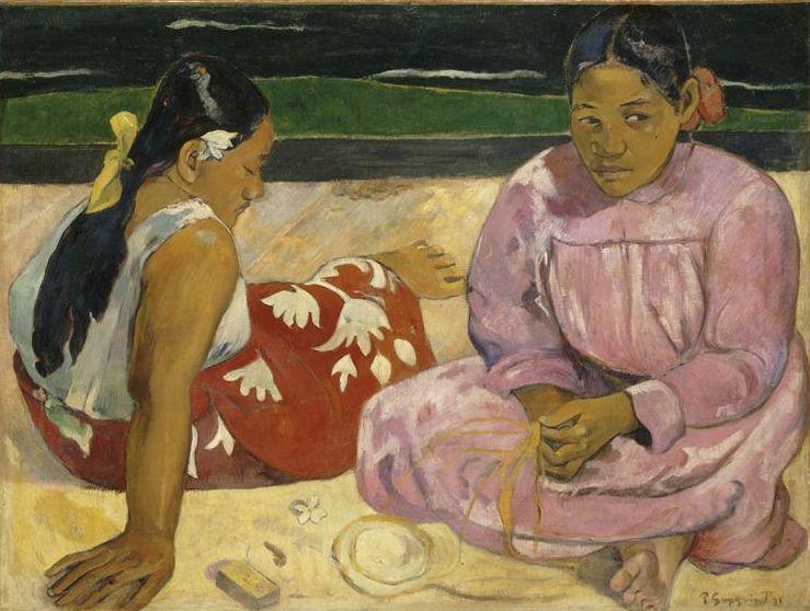 Femmes de Tahiti ou Sur la plage