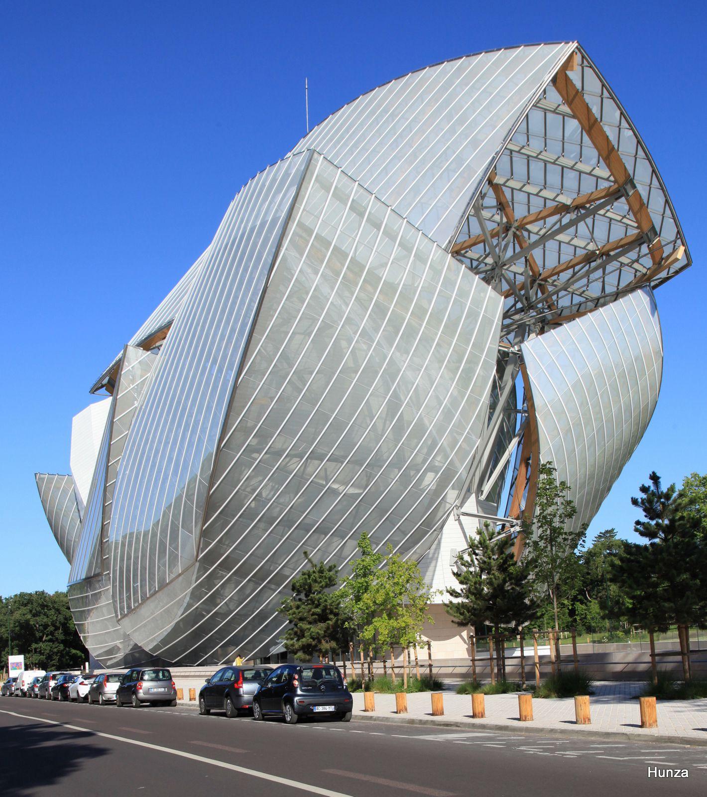 Bois de Boulogne, fondation Louis Vuitton
