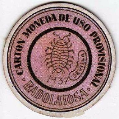 Reproducción Moneda de Badolatosa en la República.