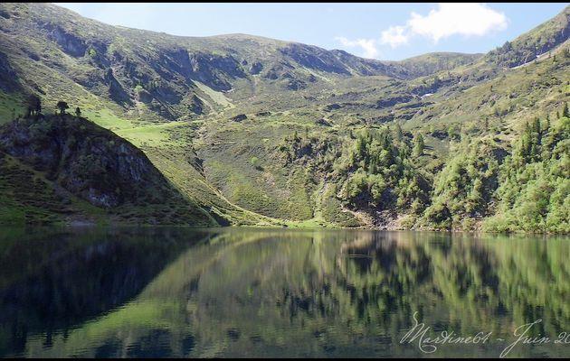 Rando pêche en lac de montagne
