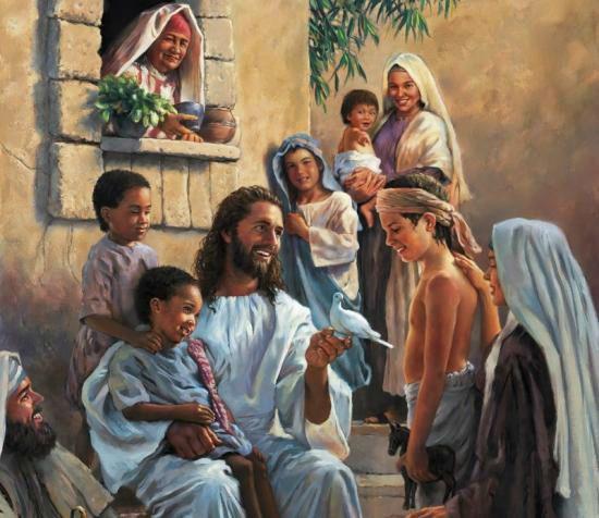 Evangile du Samedi 14 Août « N'empêchez pas les enfants de venir à moi » (Mt 19, 13-15) #parti2zero #evangile