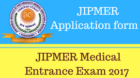 JIPMER Online Application Form 2017, JIPMER MBBS 2017 Exam Application