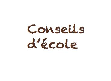 COMPTE RENDU DU 3eme CONSEIL D'ECOLE DOMBROWSKI, DU 08 JUIN 21
