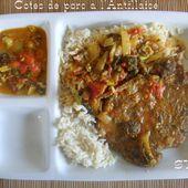 Côtes de porc à l'Antillaise - Chez Mamigoz