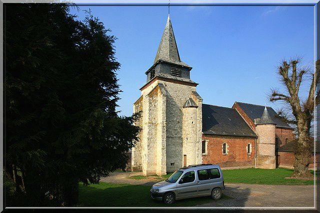 Diaporama église de Nampcelles la Cour