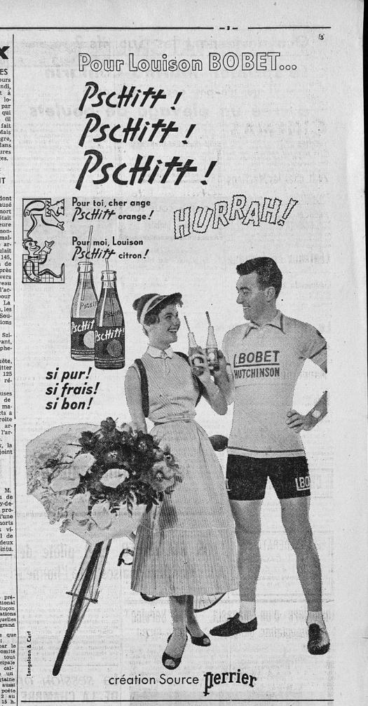 Publicité de 1955