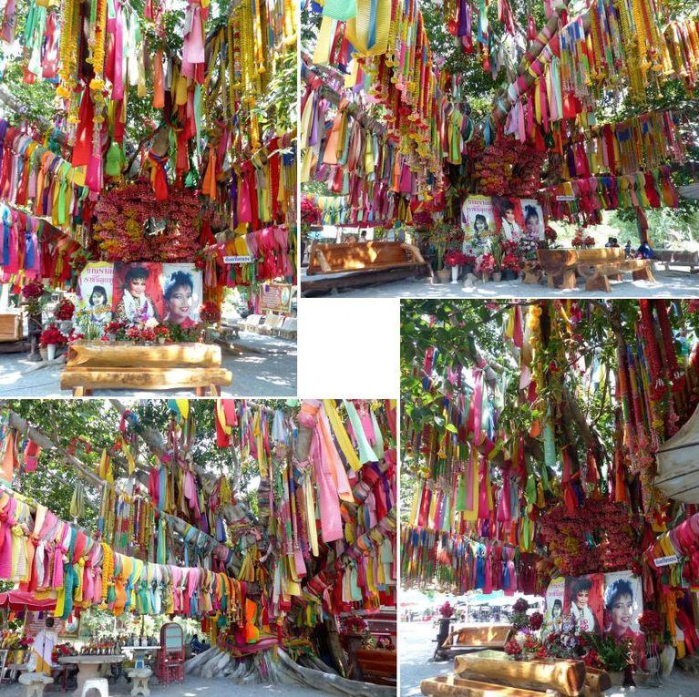 Wat Thap Kadran (province de Suphan Buri) : le temple dédié à Phumphuang