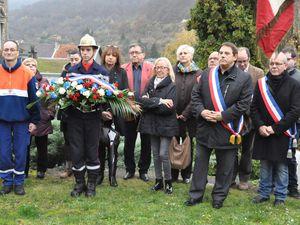 Commémoration du 11 novembre à Algrange en 2015
