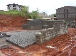 Construction au Cameroun: Semi dur